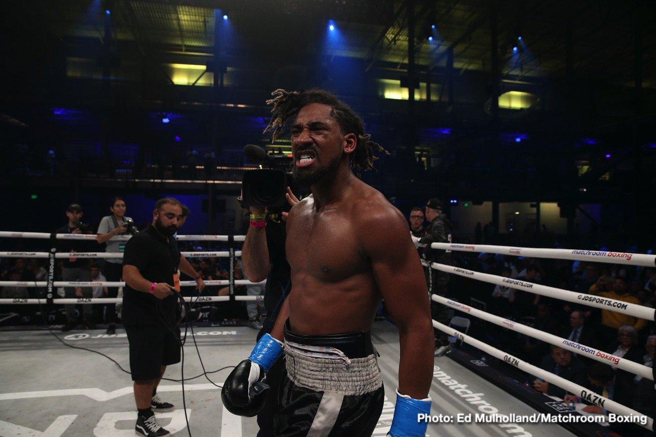 Canelo Alvarez Demetrius Andrade Gennady Golovkin Andrade vs. Keeler DAZN Eddie Hearn Jaime Munguia Jermall Charlo Luke Keeler