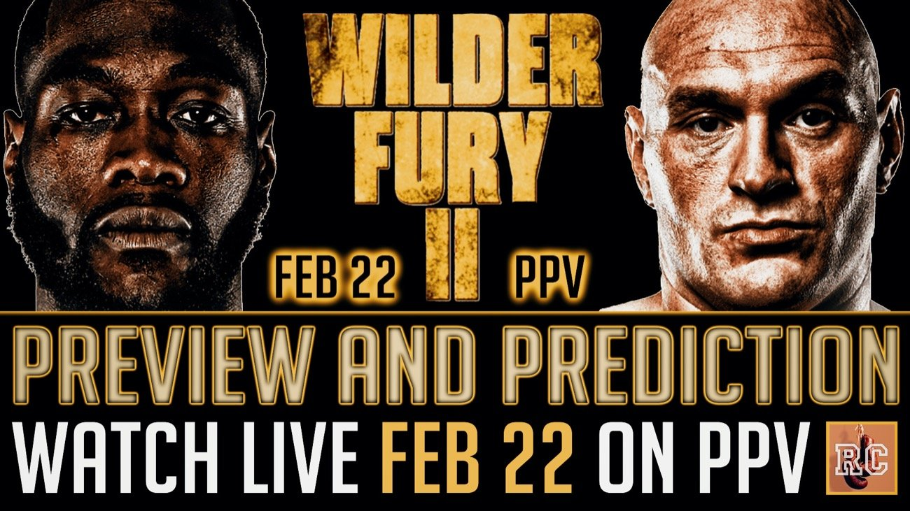 VIDEO: Deontay Wilder vs Tyson Fury II - Rematch Preview ...