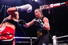 - Latest Alicia Napoleon Espinosa Bakhtiyar Eyubov Claressa Shields Ivana Habazin Jaron Ennis Shields vs. Habazin