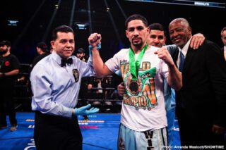Danny Garcia the WBC mandatory to Errol Spence