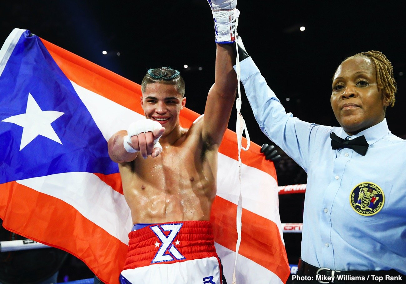 Boxing results from the weekend: Xander Zayas, Ema Kozin ⋆ Boxing News 24
