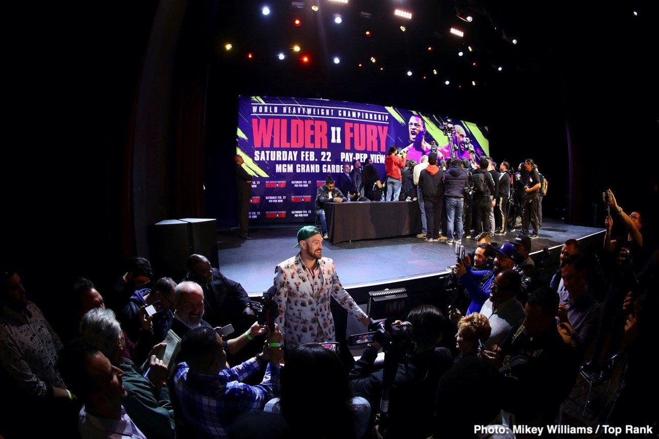 Deontay Wilder Tyson Fury Bob Arum ESPN pay-per-view Fox Sports pay-per-view Wilder vs. Fury