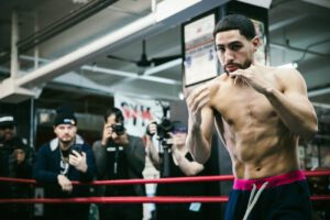 Danny Garcia let's Terence Crawford know: 'The balls in my court'