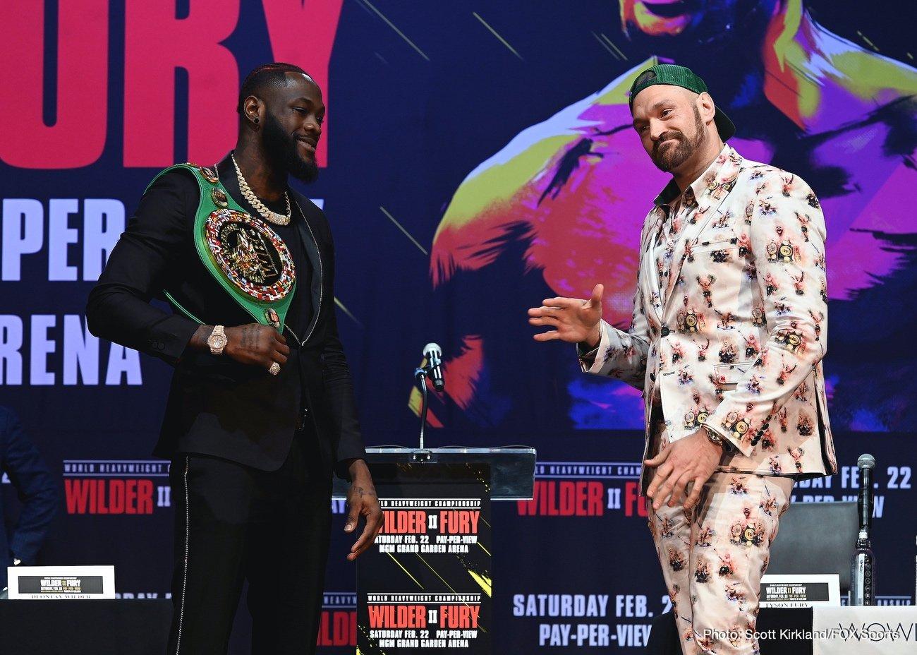 Deontay Wilder Shawn Porter Tyson Fury ESPN pay-per-view Fox Sports pay-per-view Regis Prograis Wilder vs. Fury