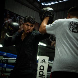 Mikey Garcia fighting Manny Pacquiao in May