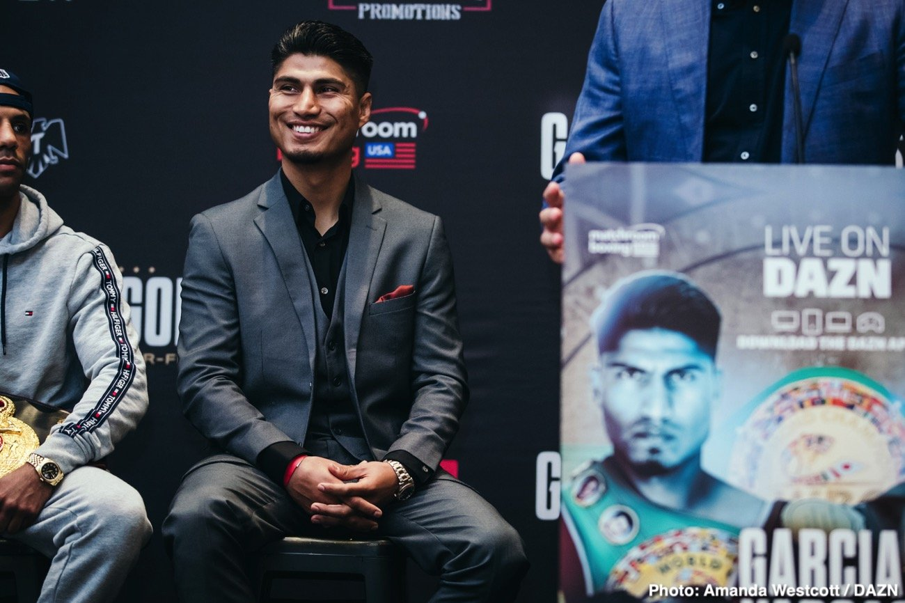 Manny Pacquiao Mikey Garcia