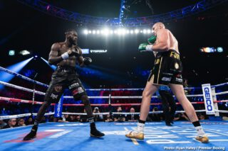 BREAKING: Deontay Wilder exercising rematch clause for Tyson Fury trilogy in summer