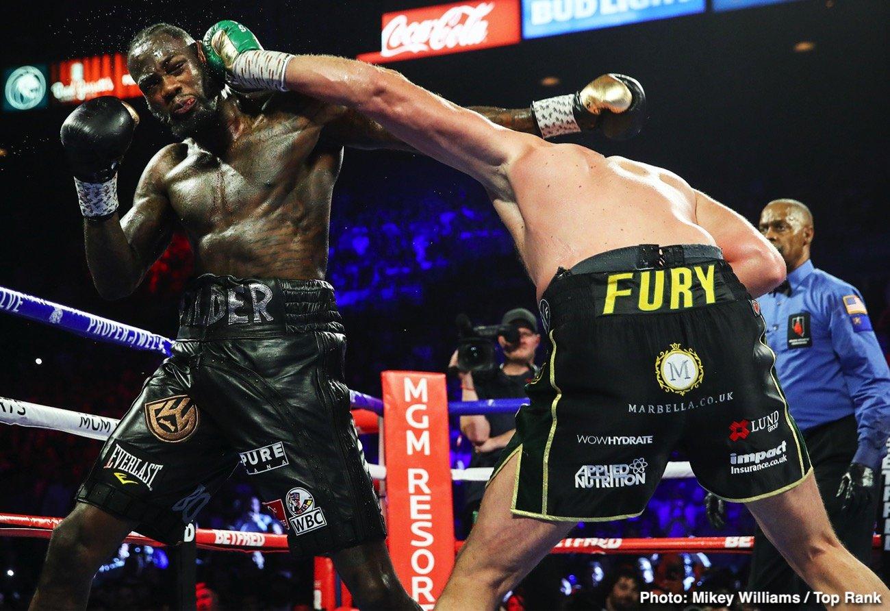 Andre Ward Deontay Wilder Tyson Fury