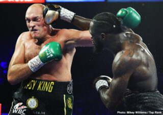 Tyson Fury on Deontay Wilder: The Chapter's done, I beat him twice