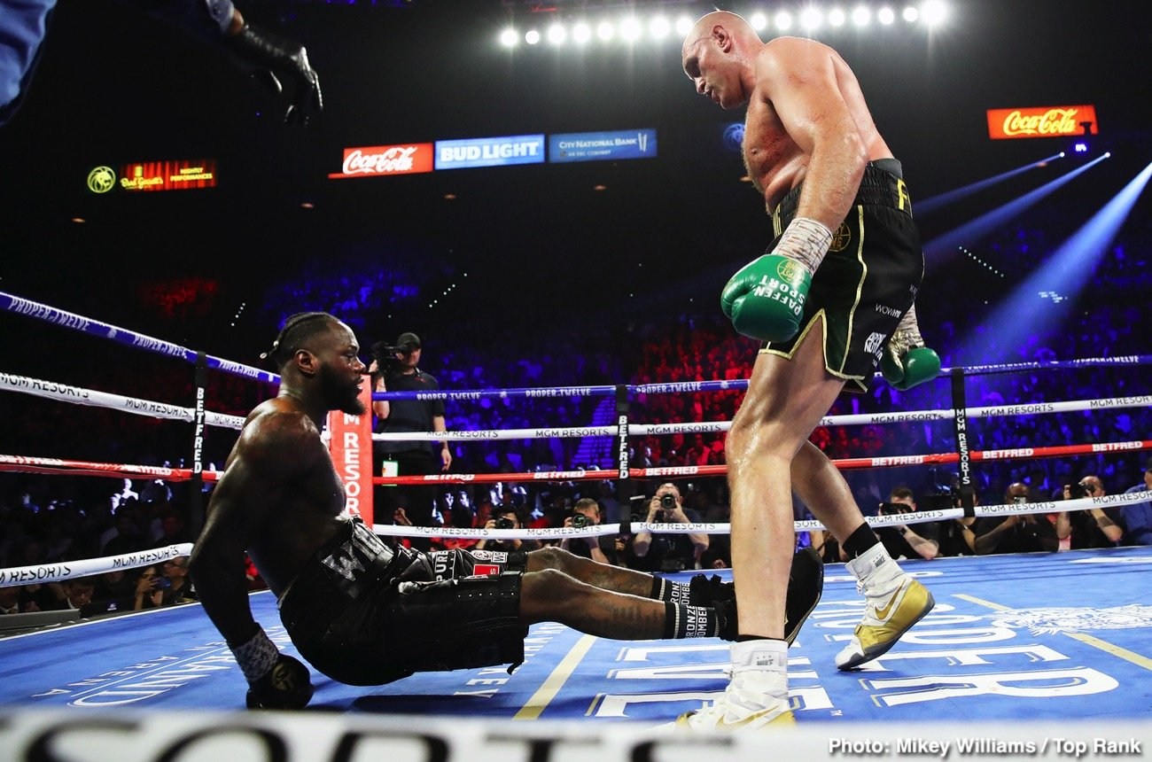 """Tyson Fury tells Deontay Wilder: """"I'm not going to wait forever ..."""
