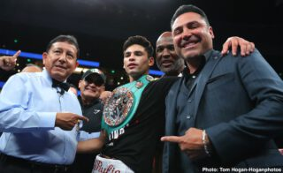 Oscar De La Hoya frustrated with Ryan Garcia vs. Luke Campbell negotiations