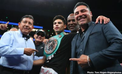 - Latest Ryan Garcia