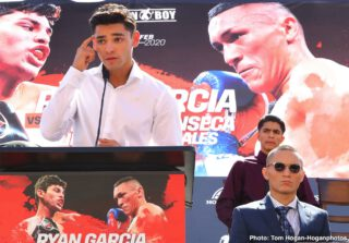 Ryan Garcia: 'I'm trying to get to 60-0'