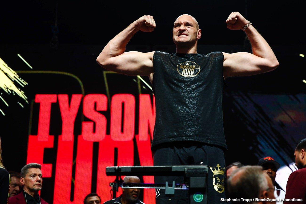 - Latest Tyson Fury