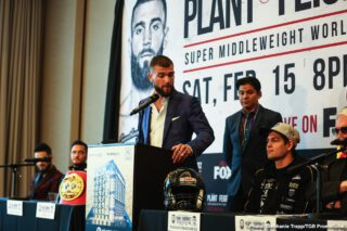 Canelo Alvarez eyeing Caleb Plant for May 2 fight