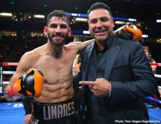 Devin Haney and Jorge Linares agreed to fight on May on Dazn
