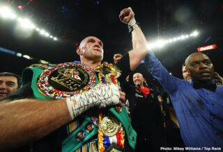 Fury avoids dangerous Wilder, in a business decision