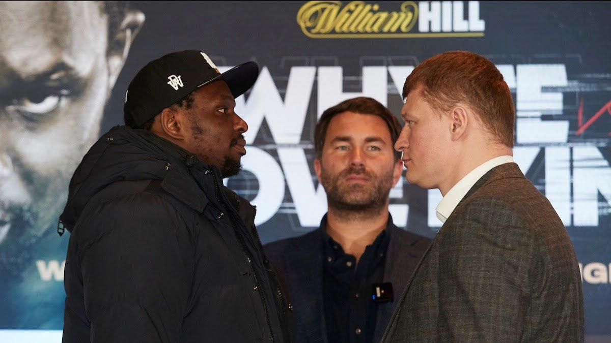 Anthony Joshua Carl Froch Dillian Whyte Tyson Fury