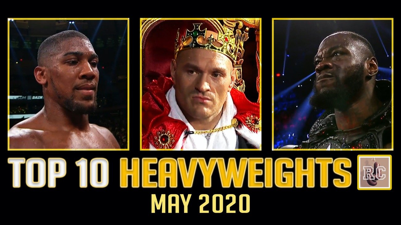 Andy Ruiz Jr. Anthony Joshua Deontay Wilder Tyson Fury
