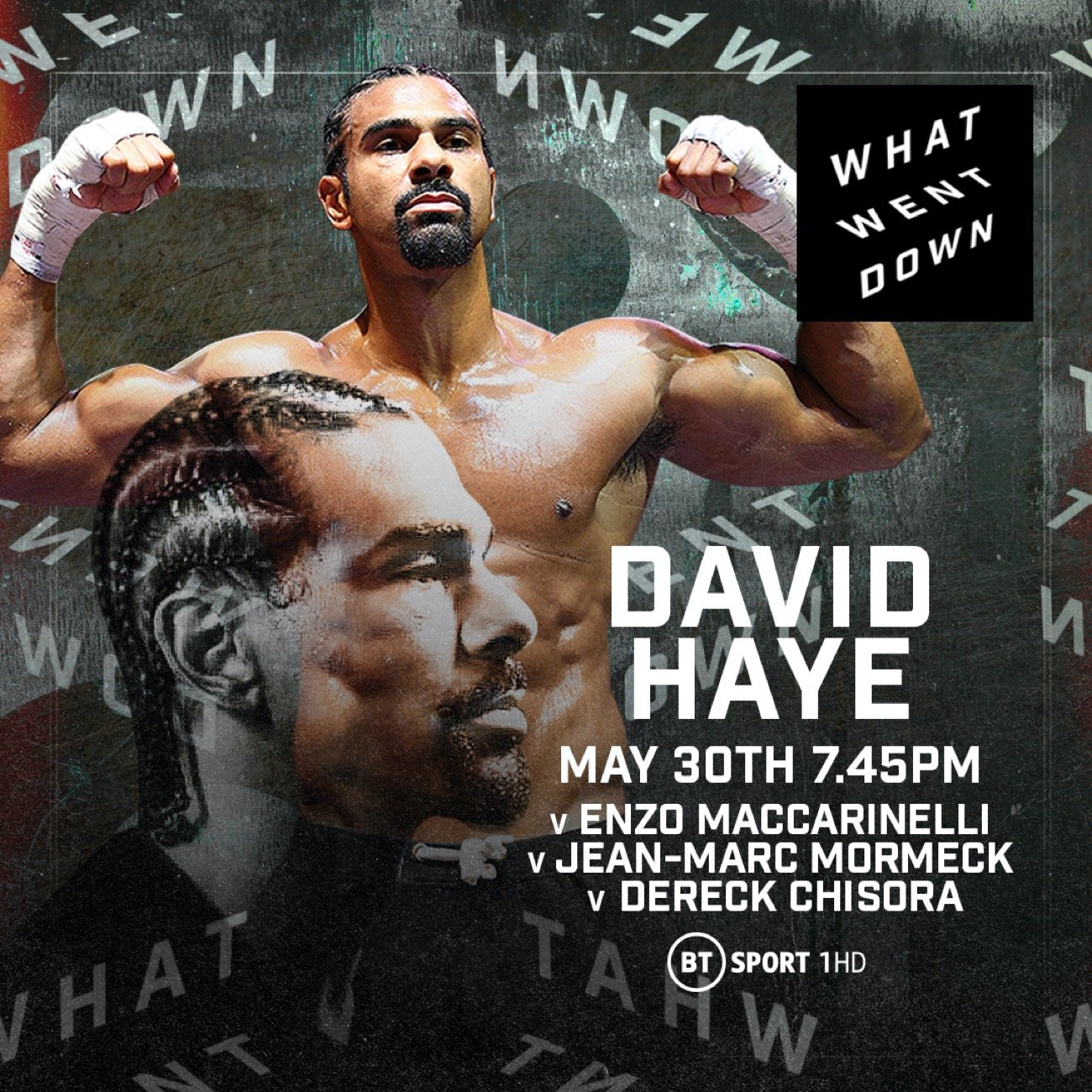 - Latest David Haye
