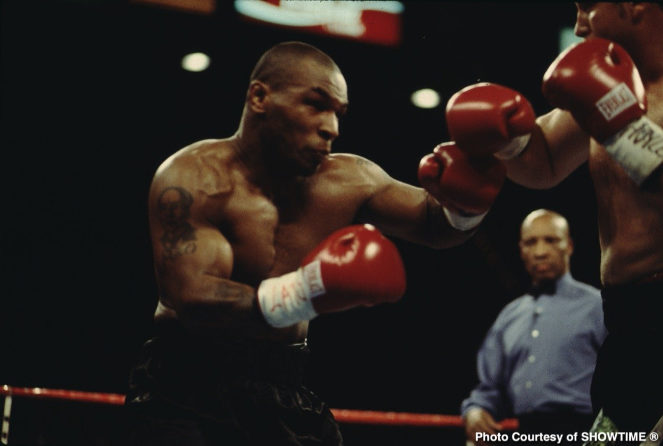 Mike Tyson Roy Jones Jr.