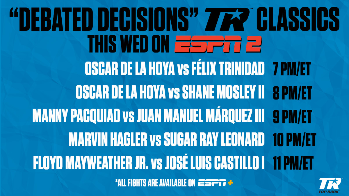 - Latest Manny Pacquiao Marvin Hagler Oscar De La Hoya