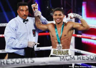 Shakur Stevenson wants Tank Davis & Josh Warrington