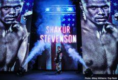 - Latest Robeisy Ramirez Shakur Stevenson