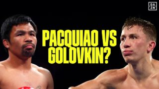 Pacquiao doesn't rule out Golovkin bout at 154