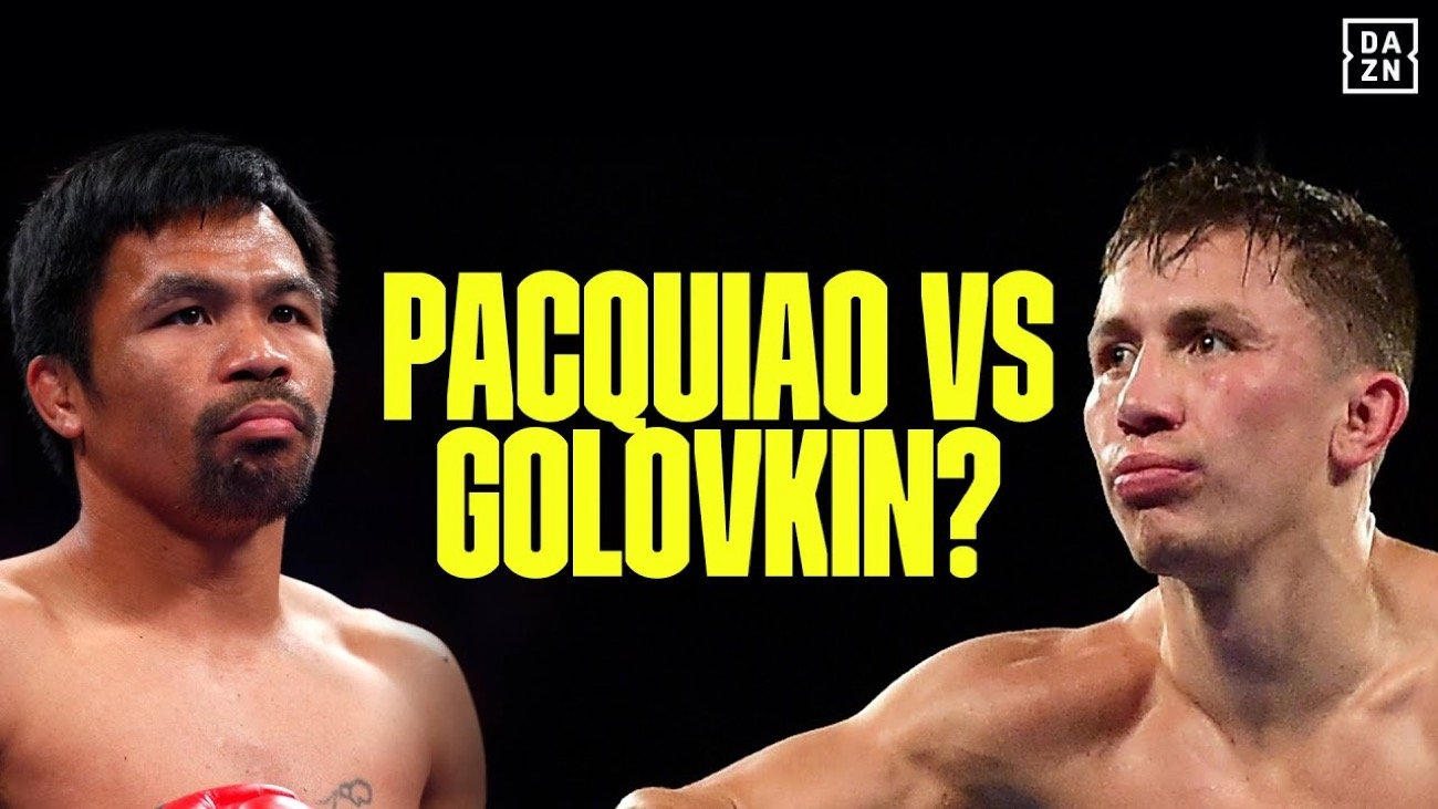 Gennady Golovkin Manny Pacquiao Mikey Garcia
