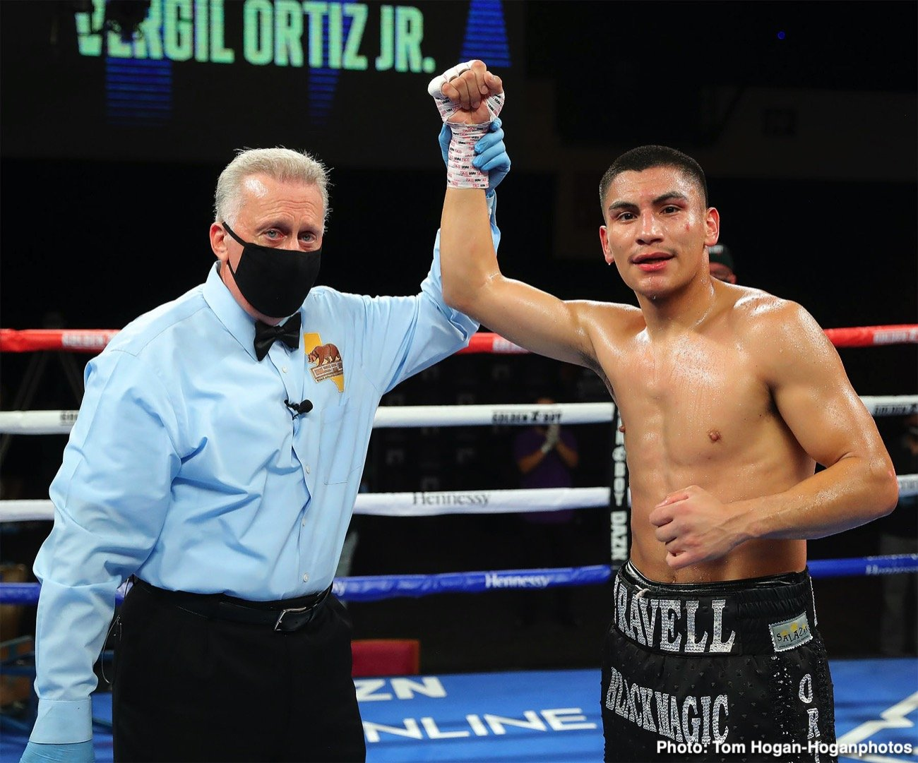 - Latest Vergil Ortiz Jr