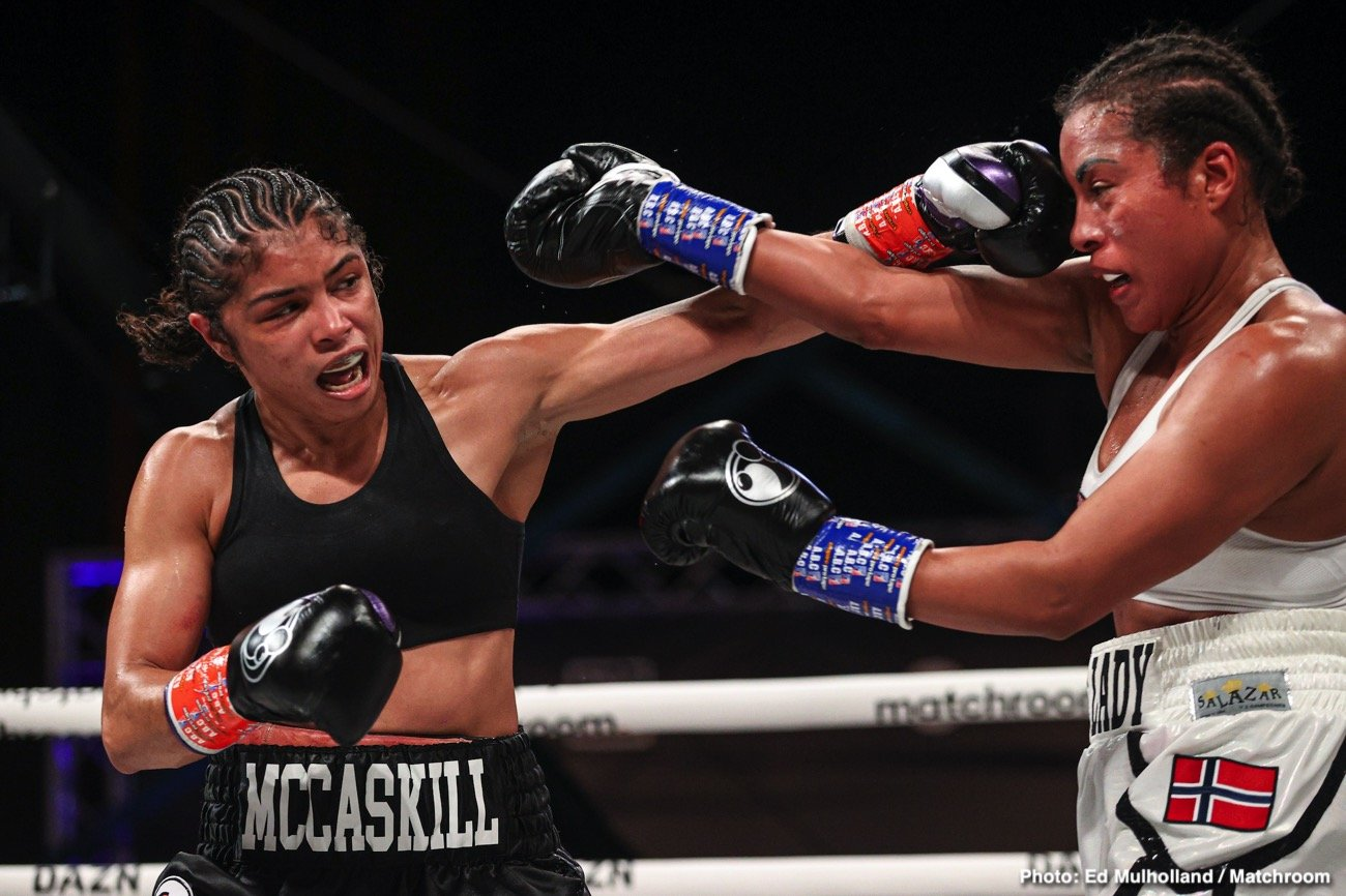 Boxing Results: Jessica Mccaskill Springs Huge Upset Victory Over ...