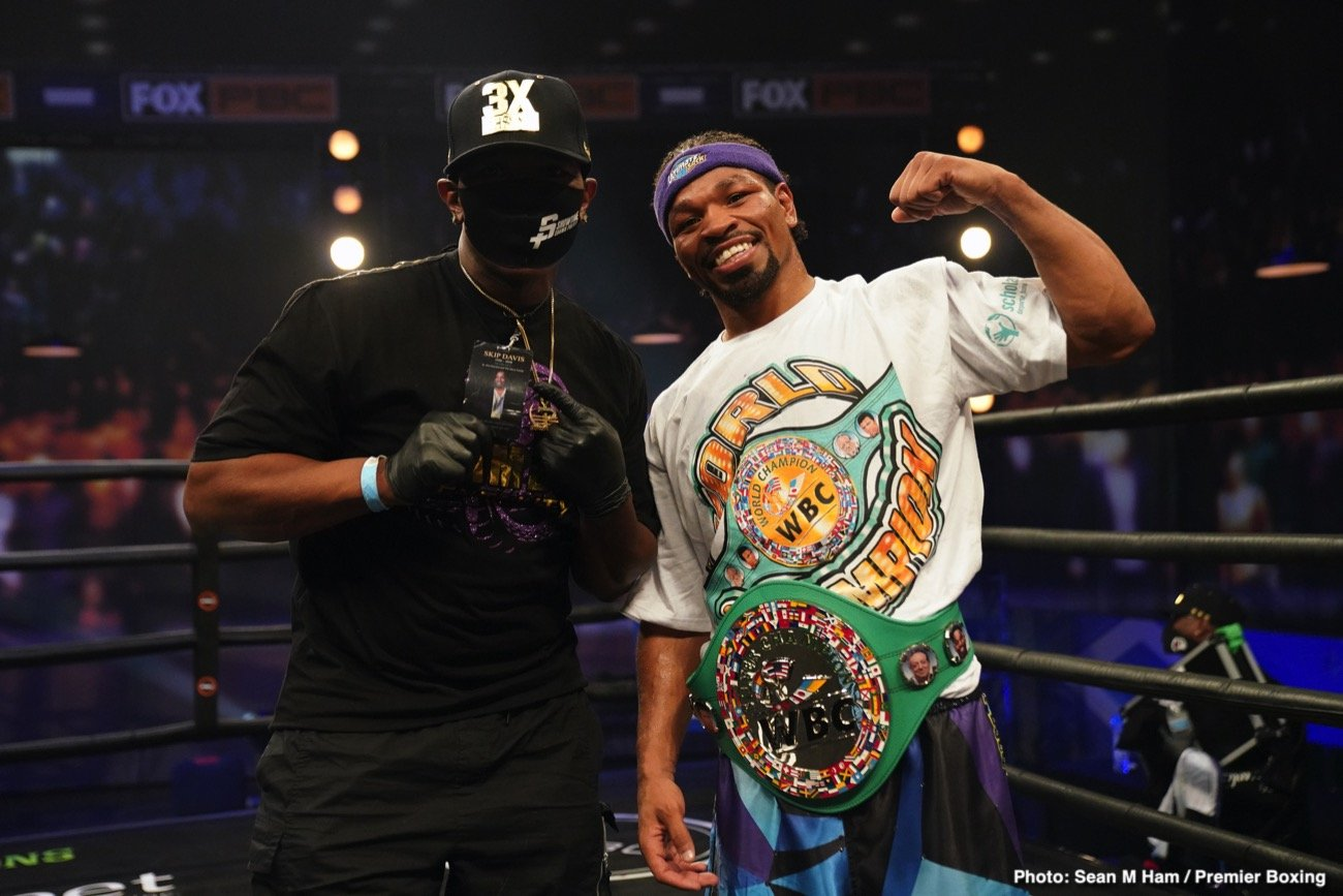 Kell Brook Shawn Porter Terence Crawford