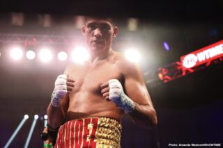 David Benavidez: I'm the guy to beat Canelo Alvarez