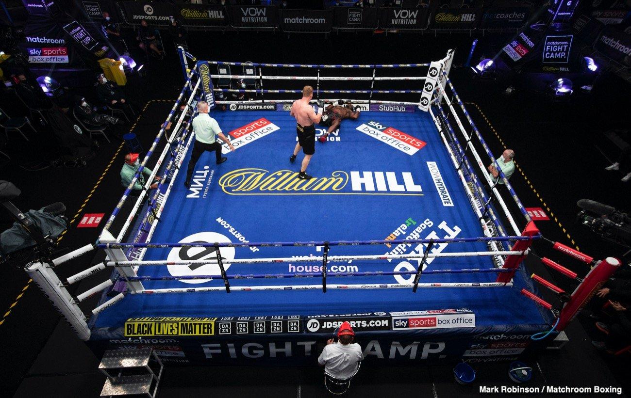 Alexander Povetkin Anthony Joshua Dillian Whyte Tyson Fury