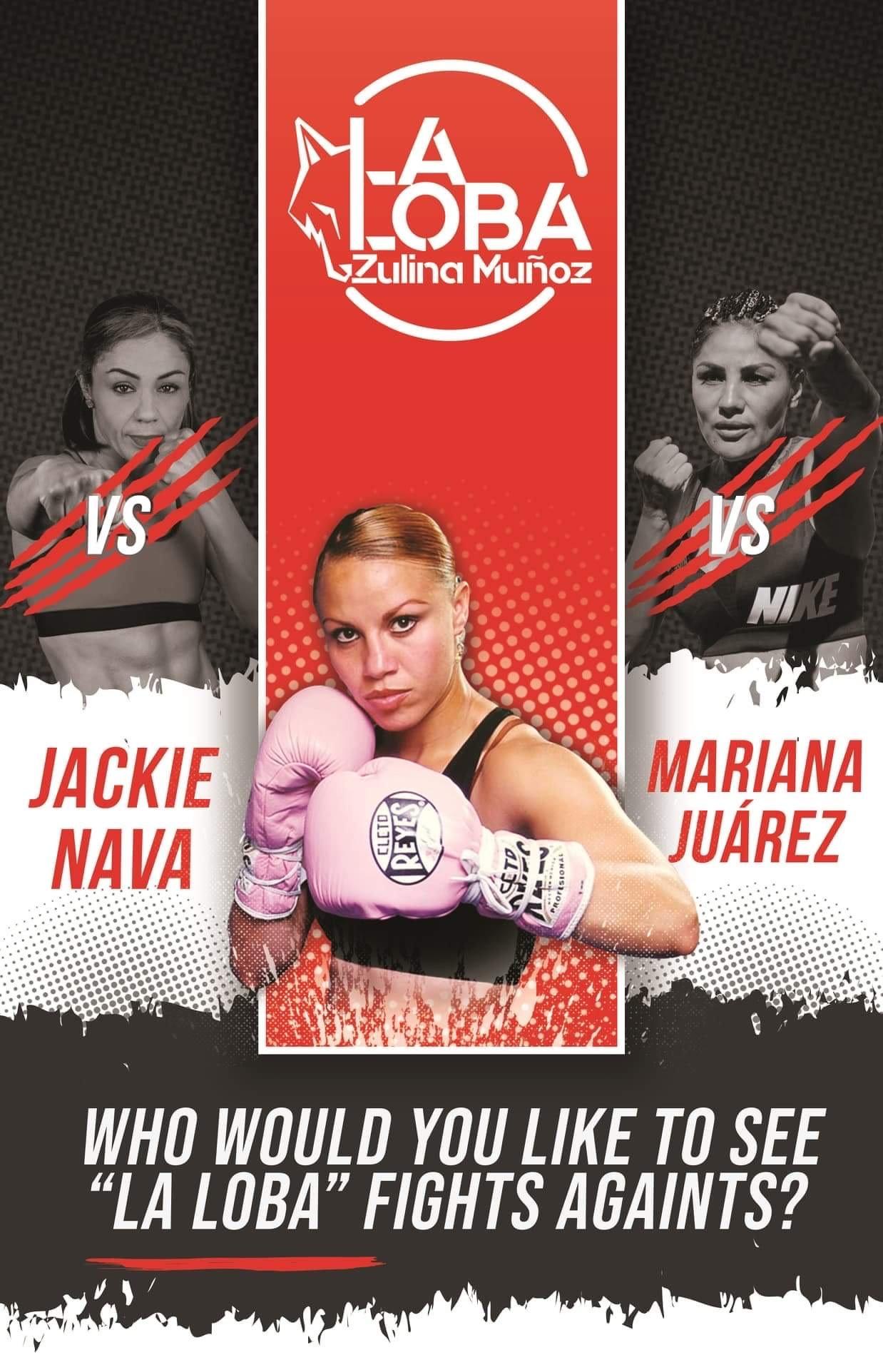 """Zulina """"Loba"""" Muñoz Wants a Big Fight"""