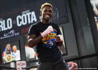 Jermall Charlo tells David Benavidez to meet him at catchweight