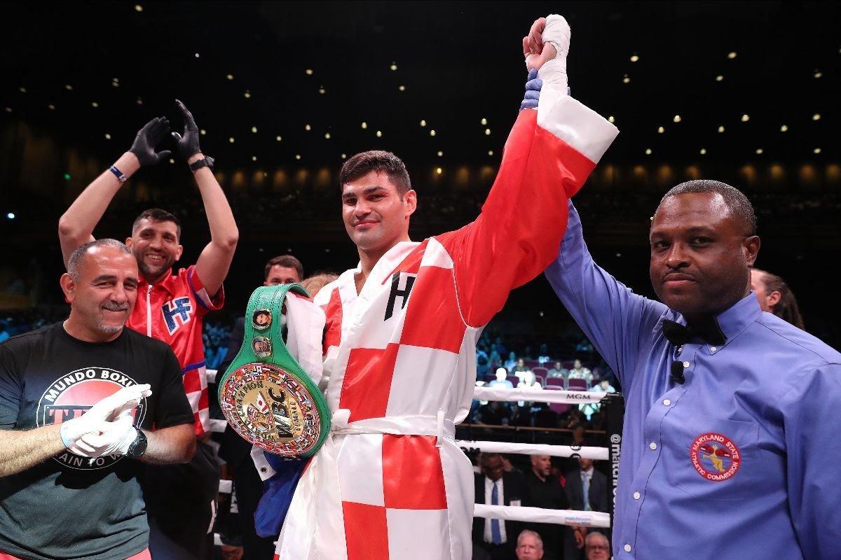 Boxing Results: Filip Hrgovic destroys Alexandre Kartozia