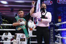 Juan Francisco Estrada Julio Cesar Martinez Roman Gonzalez
