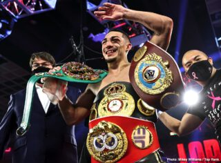 Teofimo Lopez: 'Goodbye, Top Rank, hello, Triller