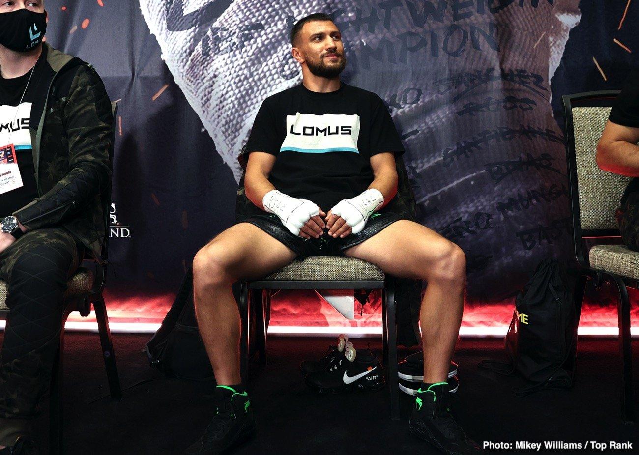 Teofimo Lopez Vasiliy Lomachenko