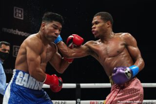 Devin Haney slams Arum for protecting Teofimo Lopez