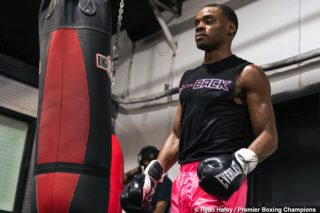 Errol Spence: Danny Garcia couldn't beat me at 70%