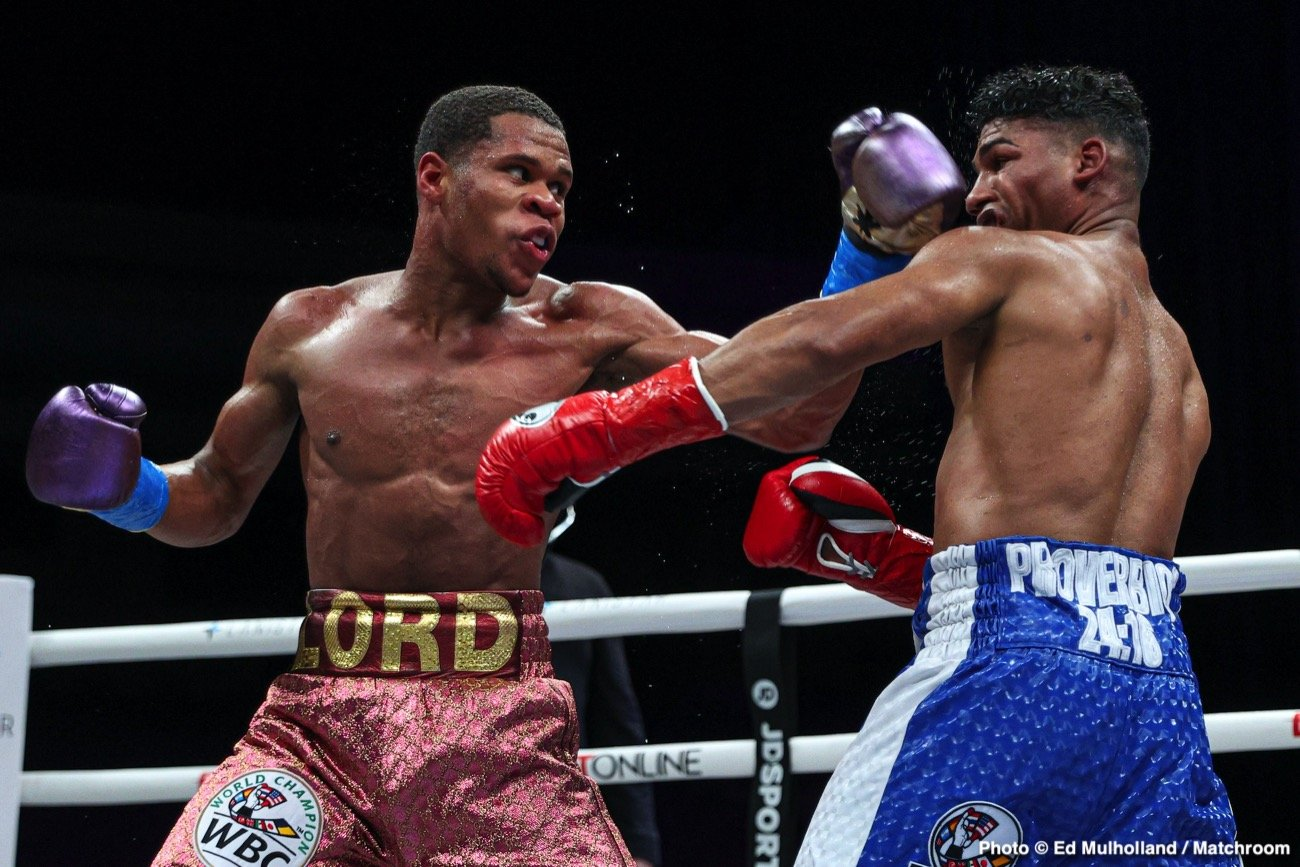 Devin Haney Eddie Hearn Ryan Garcia