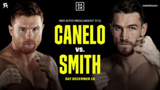 Callum Smith says Canelo Alvarez is too small to win