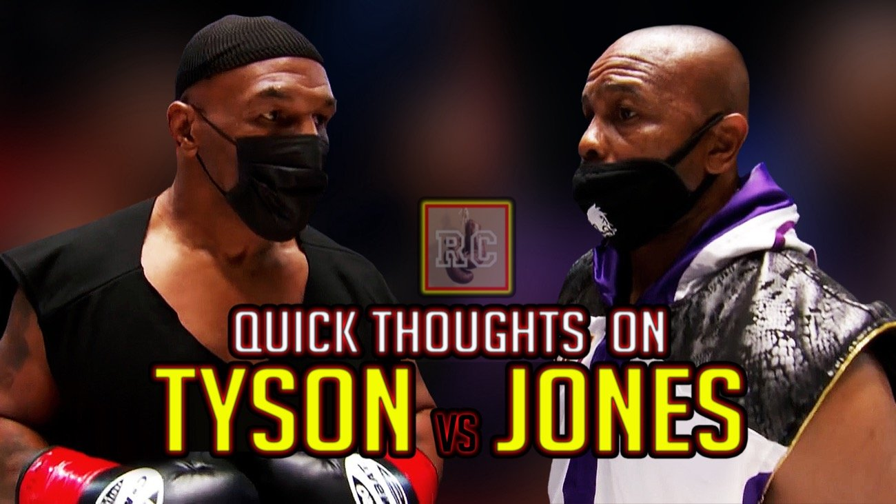 Mike Tyson Roy Jones Jr.