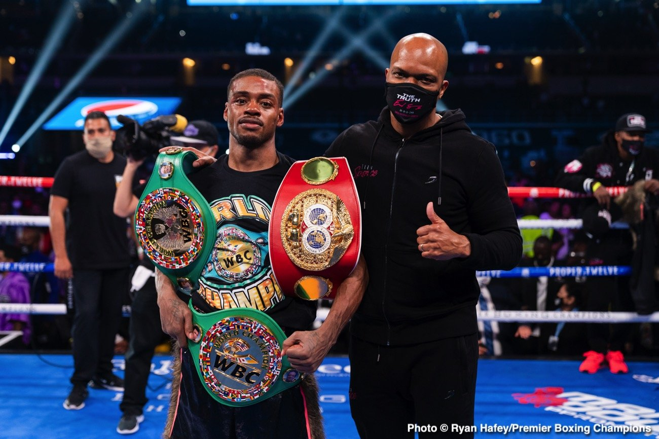 Boxing Results: Errol Spence defeats Danny Garcia ⋆ Boxing News 24