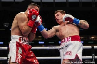 Canelo Alvarez says he's going to beat Golovkin's face in