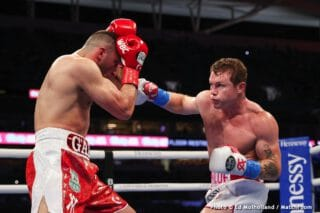 Canelo open to fighting Benavidez or Golovkin after unifying 168 in 2021