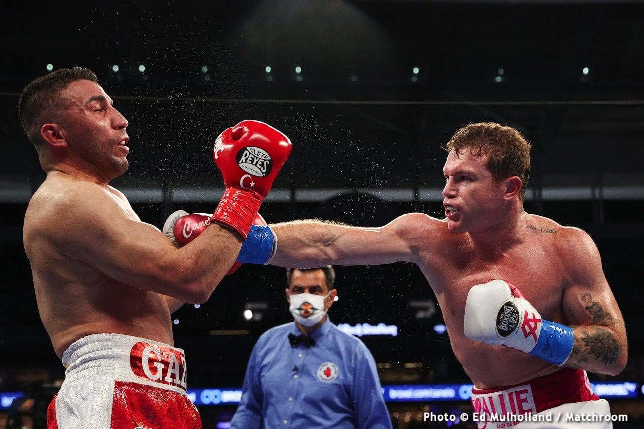 Billy Joe Saunders Canelo Alvarez Tyson Fury